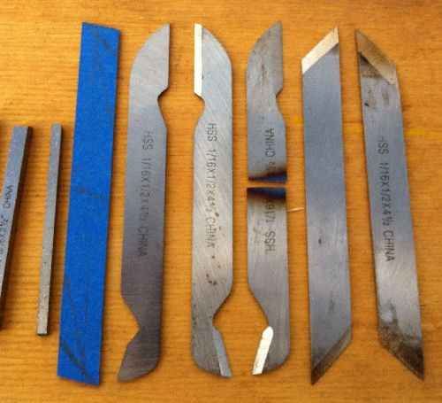 Making tools with hss blanks « toolmaking art