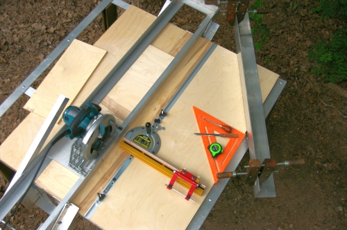 Homemade Table Saw Plans : Guide Plans for table saw stand  landscape design plans